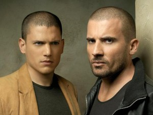 PRISON BREAK: Wentworth Miller (L) and Dominic Purcell (R) in PRISON BREAK premiering Monday, August 21 (8:00-9:00 PM ET/PT) on FOX. ?006 Fox Broadcasting Co. Cr: Jeremy Cowart/FOXÊÊ