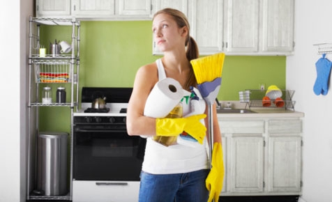 unhealthy chores new research shows women are more likely than