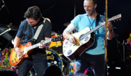 Great Scott! Watch as Coldplay perform Back To The Future rendition with none other than Michael J Fox