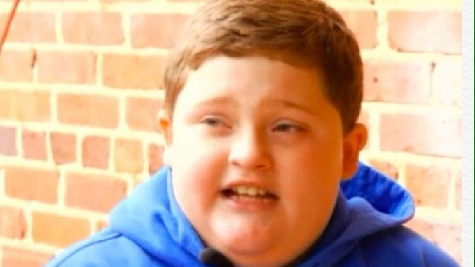 Bad Santa: Boy aged 9 left in tears  after being told to 'lay off the hamburgers' at Santa grotto visit