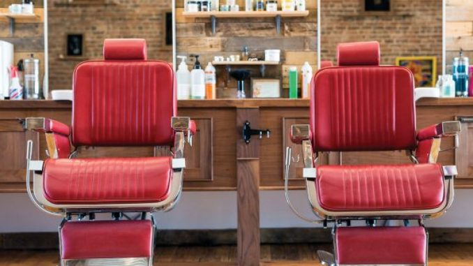 Shocking: A man threw a bottle of acid over another man outside a Dublin barbershop