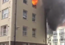Breaking: Over 50 firefighters tackling blaze at an apartment complex in London
