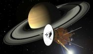 Cassini's 20-year-long journey across the Solar System came to a fiery end today as the probe burned in Saturn's atmosphere