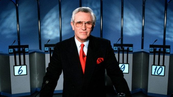 William G. Stewart, host of the TV gameshow Fifteen to One, has passed away aged 84