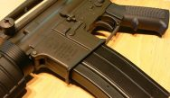 Americans splash out their cash in record numbers to buy discounted weapons on Black Friday