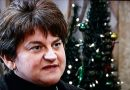 """As a proud Fermanagh woman, I reach out the hand of friendship to my neighbours"" – Arlene Foster meets GAA players"