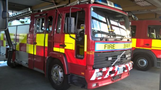 Dublin Fire Brigade called to help elderly pensioner who was left in freezing cold conditions after suffering a fall overnight