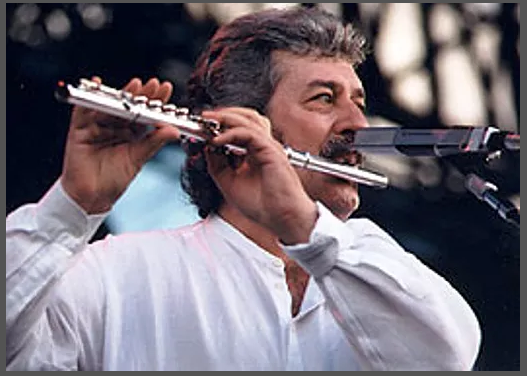 Musician Ray Thomas, one of the founding members of The Moody Blues