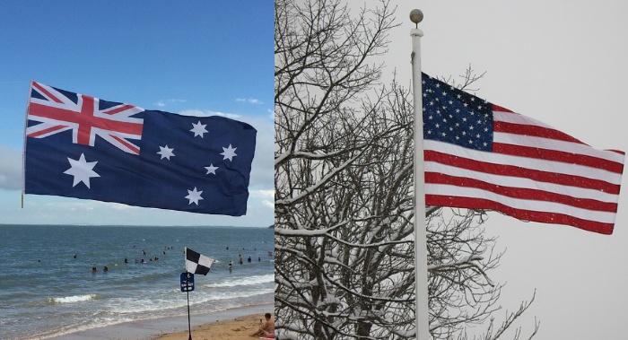 Image result for USA FREEZING, AUSTRALIA SUMMER