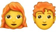 Gingers unite: New redhead/ginger emojis will be released later this year