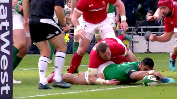 Ireland keep grand slam dream alive by beating Wales