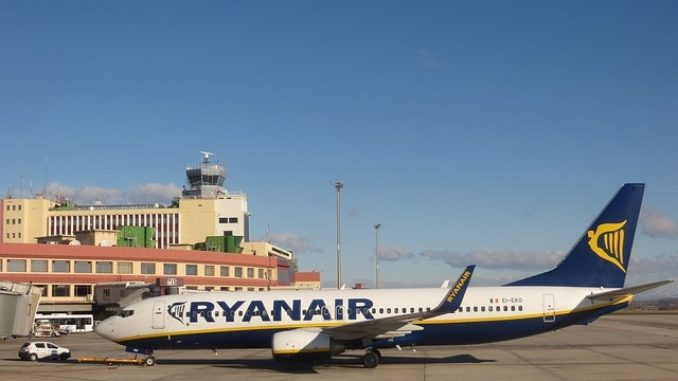 Ibiza-bound Ryanair flight from Dublin was forced to divert after group of drunken passengers cause chaos onboard