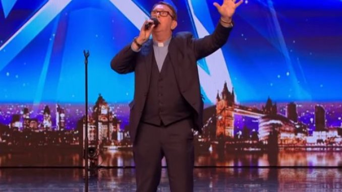 He's gone viral… again! Fr Ray Kelly has taken Britain's Got Talent by storm with this incredible performance