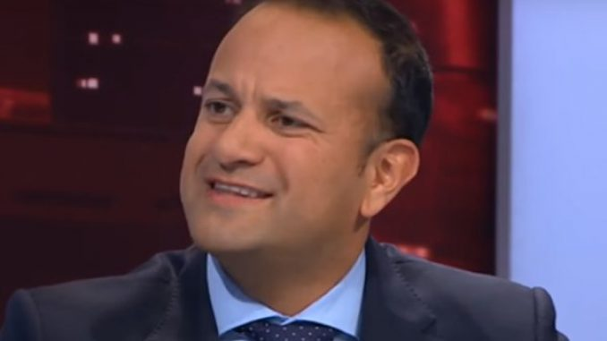 Varadkar said there'll be no hard border in Ireland irrespective of Brexit deal