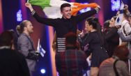 Looking forward to Together: Ireland's Ryan O'Shaughnessy makes it through to Saturday's Eurovision Grand final