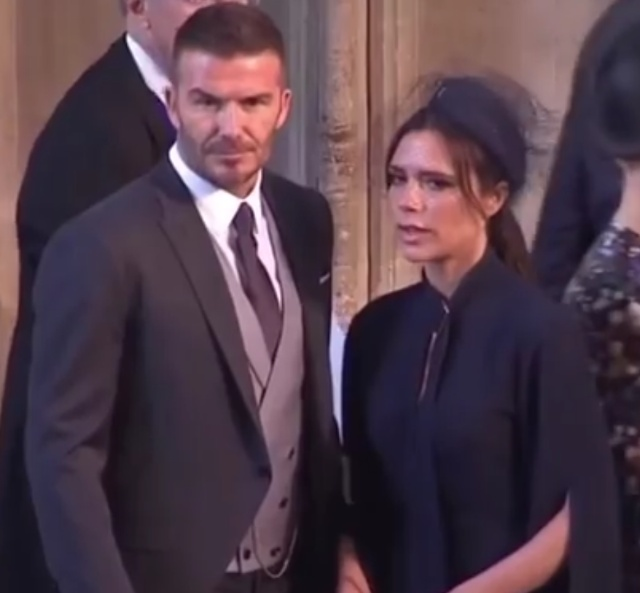 Beckhams show a united front amid divorce rumours