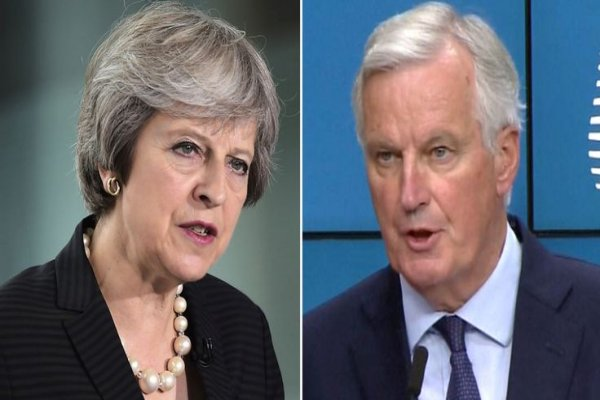 May accused of 'picking a fight' with Ireland and European Union over Brexit