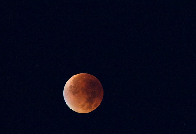Stargazers delight: Both Mars and a 'Blood Moon' are to ...