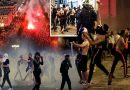 Shocking: France rocked by night of riots and violence following World Cup win