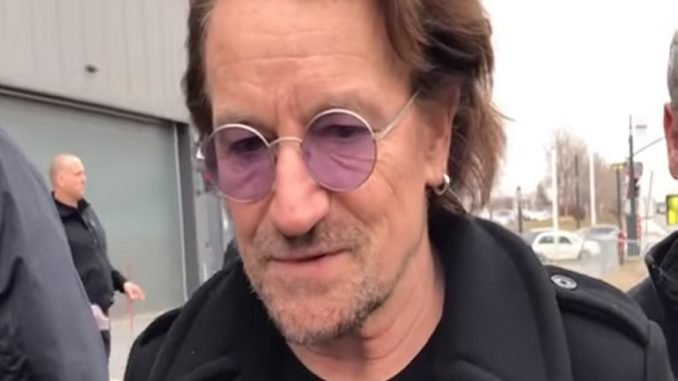 "Bono says Pope Francis is ""aghast"" about sex abuse within the Catholic Church"