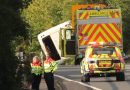 Miracle in Chaos: A baby boy has been born at the scene of a huge bus crash in the UK