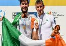 Pull like a dog: Huge celebrations as the O'Donovan brothers celebrate their Gold medals in Bulgaria
